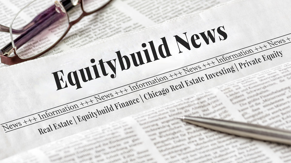 Headline for Real Estate Investing - Equity Build News