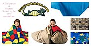 Multiple Weighted Blankets Compared- Stores include SensoryCraver.com , Flaghouse.com , TodaysClassroom.com