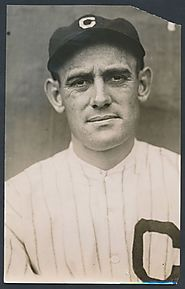 Ray Chapman, Killed by Pitched Ball August 17, 1920