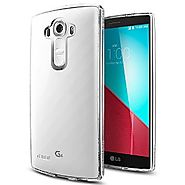 LG G4 Case, Spigen® [Ultra Hybrid] AIR CUSHION [Crystal Clear] Air Cushioned Corners + Bumper Case with Clear Back Pa...