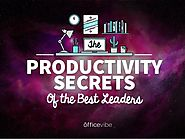 The Productivity Secret Of The Best Leaders - CommPRO.biz