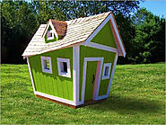 Wooden or plastic playhouses?