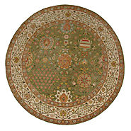 Hand Knotted Round Rugs & Octagon Rugs - 19674 - SULTAN - Oriental Designer Rugs