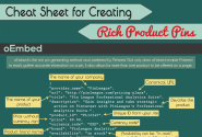 How To Make Rich Pins From Your Own Products [Cheat Sheet]