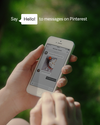 Say hello to messages on Pinterest!