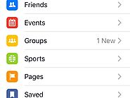 Facebook Adding Sports Section to Flagship App's Menu?