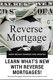 Changes In Reverse Mortgages