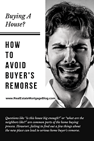 Avoid Buyer's Remorse After Buying a House