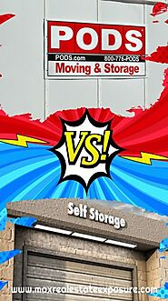 Renting a Pod vs a Self-Storage Unit