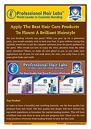 Best Quality Hair Bond Products in Wholesale