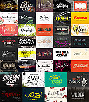 "The ""Not Like the Others"" Font Bundle - Only $39"