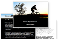 Bicycle Tour PowerPoint Template