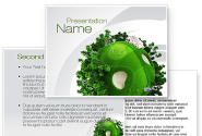 Planet Golf PowerPoint Template