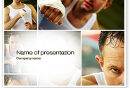 Fist Fighter PowerPoint Template