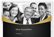 Happy Employees PowerPoint Template