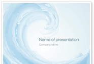 Pastel Blue Wave PowerPoint Template