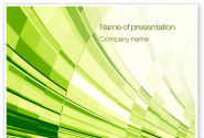 Abstract Fan PowerPoint Template