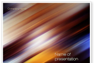 Motion Blur PowerPoint Template