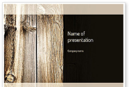 Old Board PowerPoint Template