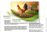 Morning At The Farm PowerPoint Template