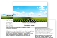 Cultivated Field PowerPoint Template
