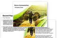 Peasant PowerPoint Template