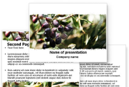 Olive PowerPoint Template