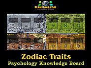 How I learned some traits defined by the Zodiac with Collectible Psychology Games.