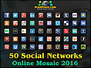 How I Learned 50 notable social network, bookmarking, video and photo sharing websites for 2016.