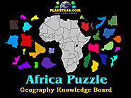 How I learned the countries of Africa with Collectible Geography Games.