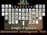 How I learned to solve Intelligence quotient tests with logic figures.