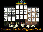 How I practice Intelligence quotient test with logic shapes part 2.