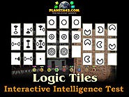How I practice Intelligence quotient test with logic tiles part 4.