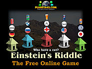 How I solve the Einstein's 5 houses riddle with collectible logic games.