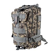 Eyourlife Sport Outdoor Military Rucksacks Tactical Molle Backpack Camping Hiking Trekking Bag