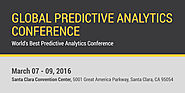Global Predictive Analytics Conference