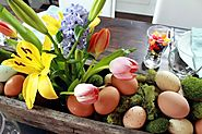 Easter Flower Bouquets and Spring Gifts Ideas
