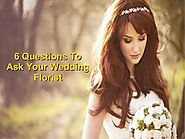 6 questions to ask your wedding florist