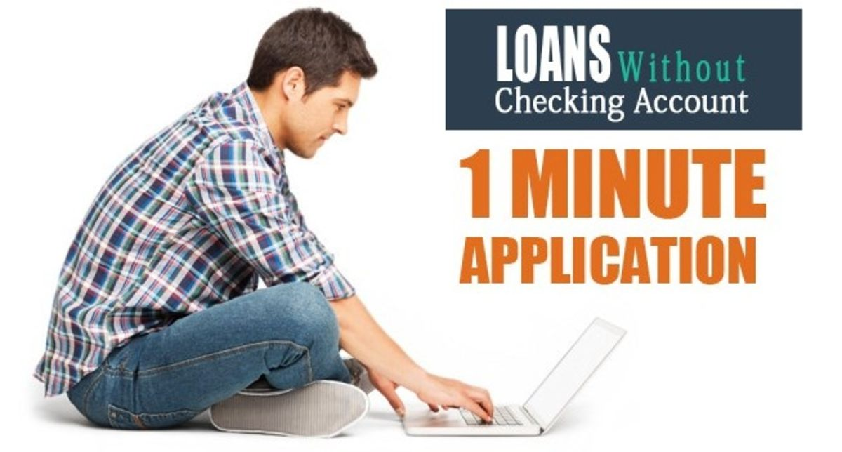 Headline for Loans Without Checking Account