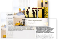 Construction Process PowerPoint Template