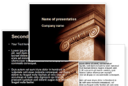 Ionic Capitals PowerPoint Template