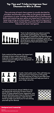 Top Tips and Tricks to Improve Your Chances to Win in Chess