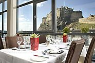 Stay in an Edinburgh hotel with stunning views of Edinburgh Castle