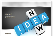 New Idea Crossword PowerPoint Template