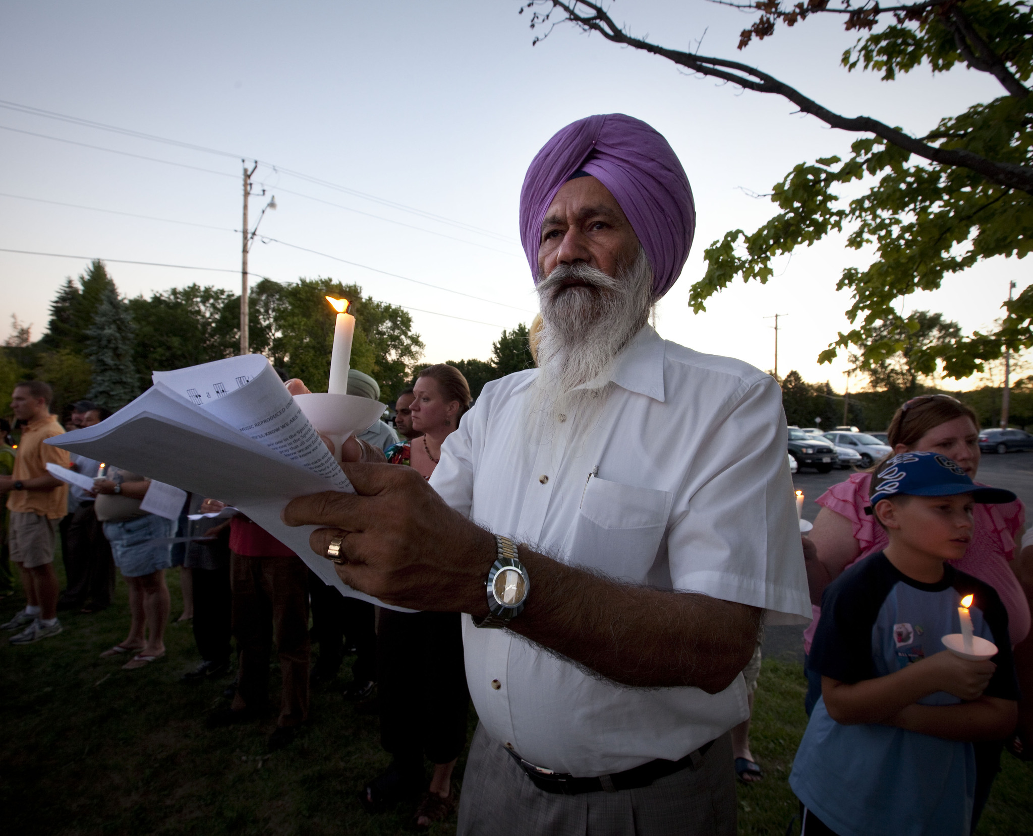 Headline for NOW Sikh Temple shooting coverage