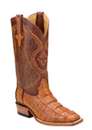 Trendy & Exotic Gator Skin Boots For Men
