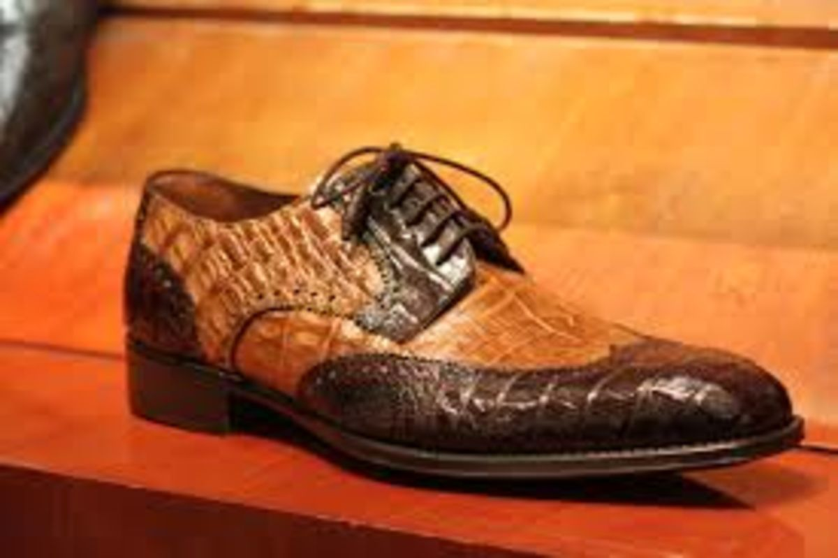 Headline for Crocodile Skin Mens Shoes