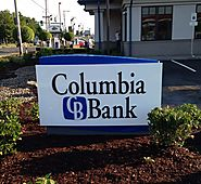 Signage and Installation Columbia Bank Clackamas Oregon
