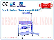 Phototherapy Unit with Baby Bassinet