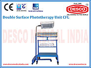 Double Surface Phototherapy Unit